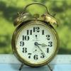 T0639 นาฬิกาปลุกเยอรมันโบราณ Jerger ส่ง EMS ฟรี