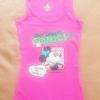 GSH-404 (10-12Y) เสื้อกล้าม Disney สีชมพู ลาย Mickey Mouse: Walt Disney's Comics