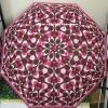 ร่มกันฝน COACH F66637 SVMER Bordeaux Retractable Umbrella