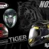 หมวกกันน็อค Real Hornet Tiger