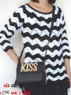 KISS กระเป๋าแฟชั่นสุดเลิศ สะพายแล้วดูสวย ดูดี เลอค่า