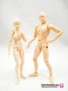 [*แพ็กเซ็ต] SHF Body-kun & Body-chan Pale orange Color Ver.