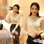 Luxurious Lace lace shirt by Aris Code