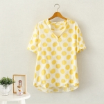 สีเหลือง size XL