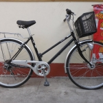 AFFICE จักรยานแม่บ้าน มีเกียร์ ตะกร้า