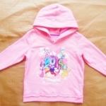 GSH-395 (4Y,6Y,8Y,10Y,12Y) เสื้อกันหนาว Disney สีชมพู ปักลาย Disneyland Resort 2014