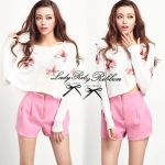 Lady Twinkle Pink Floral Set