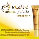 พร้อมส่ง Snow White UV Foundation Physical Sunscreen SPF 50 PA+++ ส่งฟรีEMS