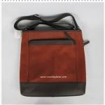 พร้อมส่ง EMS : กระเป๋า COACH F71341 GMD0L Men's Camden Distressed Leather Tech XBody Bag สีส้มอิฐ C1