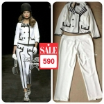 Lady Mademoiselle Black&White Set, CHANEL RTW Collection