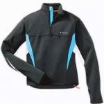 เสื้อ Jacket คลุมออกกำลังกายสีดำ-ฟ้า ไซด์ XL