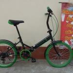 OFFROAD เขียว จักรยานญี่ปุ่นบ้านฮักแล้วถีบ ล้อ 20 พับได้ มีเกียร์
