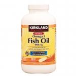 พร้อมส่ง Kirkland Signature™ Omega-3 Fish Oil Concentrate 1,000 mg, 400 Softgels น้ำมันปลาและโอเมกา 3 เคิร์คแลน จัดส่งฟรี