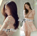 Lady Rosy Beautiful Sweet Elegant Dress
