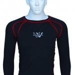เสื้อซัพกัน UV Inner Shirt Working Wicking (สีแดง)