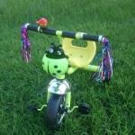 สามล้อถีบสำหรับเด็กอายุ 1-4 ขวบ (สีเขียว)