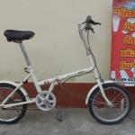 simple stye จักรยานญี่ปุ่นบ้านฮักแล้วถีบ ล้อ 16 พับได้ ไม่มีเกียร์