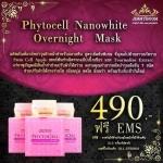 Phytocell Nanowhite Overnight Mask 1 กล่องรวมส่งฟรี EMS