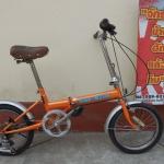 DEE Ride จักรยานญี่ปุ่น ล้อ 16 พับได้ มีเกียร์
