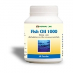 Fish Oil น้ำมันปลา 1000mg 60 เม็ด