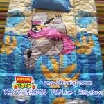 ที่นอนเด็กอนุบาล ลายหมีสีฟ้า