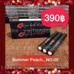 Cigar Lip De ABSOLUTE No.05 Summer Peach (สีพีชนู้ด)