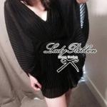 Lady Annabelle Sexy Pleated Playsuit (สีดำ)