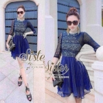 Blue Style with Lady Lace