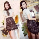 Felicia Lace Mix Dress