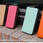 กระเป๋าสตางค์อเนกประสงค์ซิปรอบ มงกุฎสไตล์เกาหลี  Crown Zip Smart Wallet