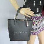 กระเป๋า COACH 29001 LIBLK Madison Tan Saffiano Leather Mini NS Tote Shoulder Bag