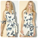 Lady Anna Pretty Butterfly Print Jumpsuit
