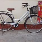 Eleanor จักรยานแม่บ้านญี่ปุ่น ไม่มีเกียร์ มีตะกร้าไฟ