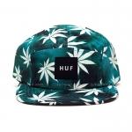 หมวก HUF Tie Dye Plantlife 5-Panel Jade