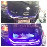 Rear Bumper By Fitt โครเมี่ยม พร้อมไฟท้าย LED ( เลือกสีได้ )