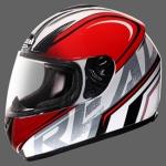 หมวกกันน็อค Real G-Force G12 สีขาว-แดง