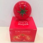 T115 Yuri Ginseng White Cream Plus Lycopene 30 g. ยูริ ครีมมะเขือเทศ ทาได้ทั้งหน้า และตัว YURI GINSENG WHITE CREAM PLUS LYCOPENE ยูริ จินเส็ง ไวน์ ครีม พลัส ไลโคพีน