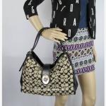 กระเป๋า COACH 32907 LID8O MADISON SIGNATURE CARLYLE SHOULDER BAG