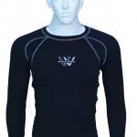 เสื้อซัพกัน UV Inner Shirt Working Wicking (สีฟ้าออน)