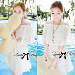 Lady Yibsie Pure Sweet White Lace Set