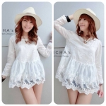 Little Girlish Lace Blouse