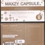 Maxzy Capsule - แมกซ์ซี่ แคปซูล
