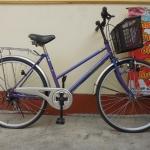 My pallas จักรยานแม่บ้าน มีเกียร์ ตะกร้า