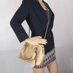 กระเป๋า COACH F32829 MIGLD Peyton Leather Mini Jrdn Carryall Handbag Gold
