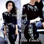 Dress Crystal jewel luxury pearl by Aris Code
