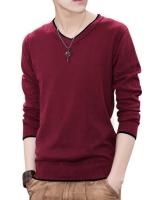 เสื้อยืดแขนยาวเกาหลี เรียบสวย ผ้าหนานุ่ม มี7สี