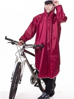เสื้อกันฝนตัวยาวเกาหลี แต่งฮู้ด ดีไซน์เท่ มี4สี