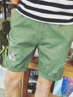 กางเกงขาสั้นเกาหลี แนวเซอร์ๆ ดีไซน์เท่ มี4สี