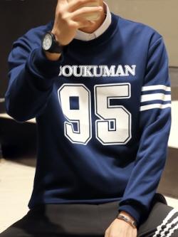เสื้อแฟชั่นแขนยาวเกาหลี พิมพ์ลายด้านหน้า แนวแจ็คเก็ตคลุม มี4สี