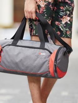กระเป๋าสะพายเกาหลี แนว Sport ช่องเก็บของมากมาย ทรงยาว มี2สี
